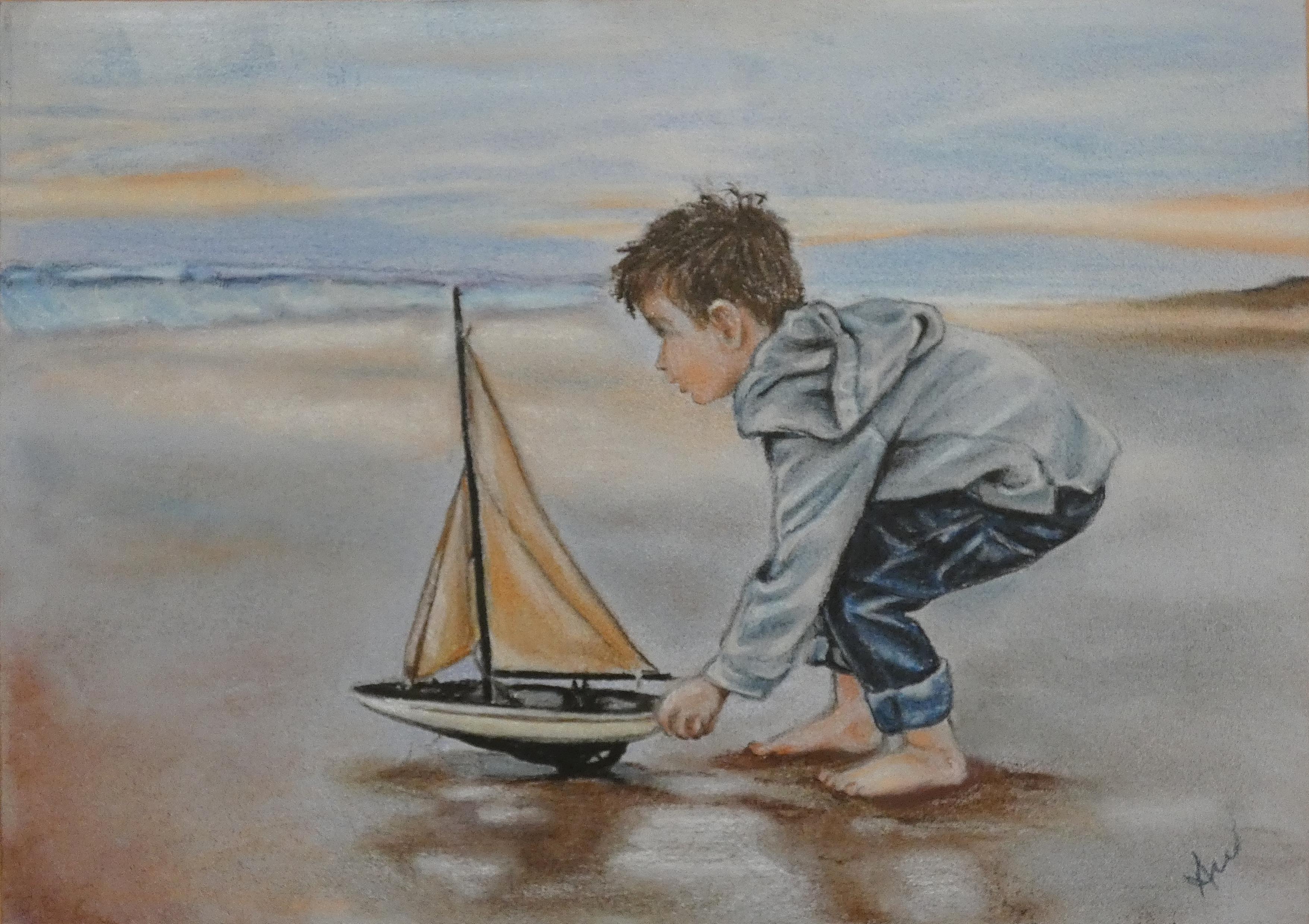 Малкият мъж и морето